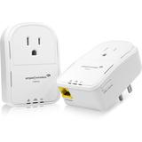 Amped Wireless PLA2 Powerline Nano AV500 1-Port Network Adapter Kit