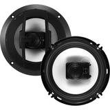 "BOSS AUDIO R63 Riot 6.5"" 3-way 300-watt Full Range Speakers"