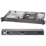 Supermicro SuperServer 5017A-EP 1U Rack-mountable Server - 1 x Intel Atom N2800 Dual-core (2 Core) 1.86 GHz DDR3 SDRAM - Serial ATA/300 Controller - 1 x 200 W