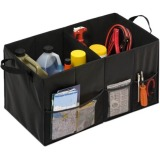 Honey-can-do SFT-01166 Folding Trunk Organizer, Black