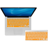 KB Covers Orange Checkerboard Keyboard Cover