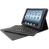 "Solidtek Keyboard/Cover Case (Folio) for 8"" iPad mini - Black"