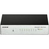 D-Link GO-SW-8GE 8-Port Gigabit Unmanaged Metal Desktop Switch