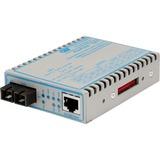 FlexPoint 10/100/1000 Gigabit Ethernet Fiber Media Converter RJ45 SC Single-Mode 12km