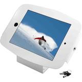 iPad 2/3/4/Air/Air2 Secure Space Enclosure with 45?? Kiosk White