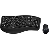 Adesso Tru-Form Media 1500 - Wireless Ergonomic Keyboard & Laser Mouse
