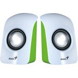 Genius SP-U115 2.0 Speaker System - 1.5 W RMS - White