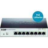 D-Link EasySmart 8-Port Gigabit PoE Switch