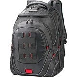 """Samsonite Tectonic Carrying Case (Backpack) for 17"""" Notebook - Black, Red"""