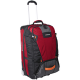 Wenger Sierre Travel/Luggage Case (Roller) for Travel Essential - Red, Black