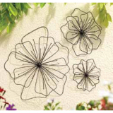 Gardman Poppy Wall Art Shape
