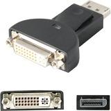 AddOn DisplayPort 1.2 to DVI-I (29 pin) Male to Female Black Adapter