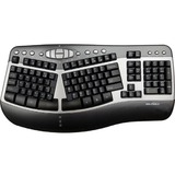 Seal Shield Silver Wave Ergo Waterproof Keyboard