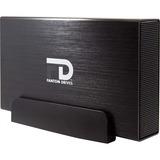 Fantom Drives Professional 3TB 7200RPM USB3.0/eSATA/Firewire400/800 aluminum external hard drive - Quad interface