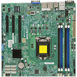 SUPERMICRO X10SLM-F - motherboard - micro ATX - LGA1150 Socket - C224