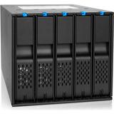 Icy Dock FlexCage MB975SP-B Drive Enclosure Internal - Black