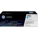HP HEWCE411AG 305A Toner Cartridge Cyan Laser, 2600 Page Toner