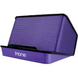 iHome iHM27 Speaker System - Battery Rechargeable - Purple