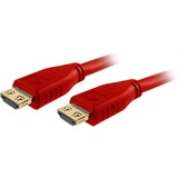 Comprehensive Pro AV/IT High Speed HDMI Cable with ProGrip, SureLength, CL3- Deep Red 12ft