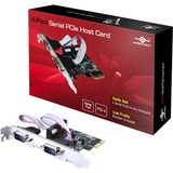Vantec 2-Port Serial PCIe Host Card