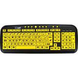 EZSee USB Large Print Spanish Latin American Keyboard