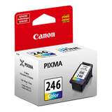Canon CL-246 Original Ink Cartridge - Color - Inkjet - 180 Pages