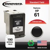 Innovera Remanufactured Ink Cartridge - Alternative for HP (CH561WN) - Black