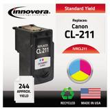 Innovera Remanufactured Ink Cartridge - Alternative for Canon (2976B001) - Tri-color