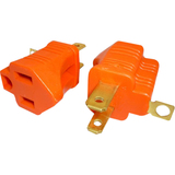 Professional Cable 3 Prong to 2 Prong Grounding Converter
