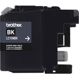 Brother Ink Cartridge, 2400 Page Yield, Black