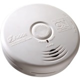 Kidde Worry-Free Kitchen Smoke and Carbon Monoxide Alarm Sealed Lithium Battery Power