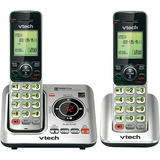 VTech CS6629-2 DECT 6.0 1.90 GHz Cordless Phone - Silver