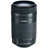 Canon - 55 mm to 250 mm - f/4 - 5.6 - Telephoto Zoom Lens for Canon EF/EF-S