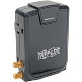 Tripp Lite Home Theater Surge Wallmount Direct Plug In 3 Outlet Rotate Coax