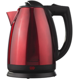 Brentwood (KT-1805) 2.0 Liter Stainless Steel Electric Cordless Tea Kettle in Red