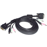 Connectpro SDU-06A USB/DVI-I/Audio KVM Cable