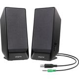 Creative A50 2.0 Speaker System - 1.6 W RMS - Black