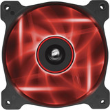 Corsair Air Series AF120 LED Red Quiet Edition High Airflow 120mm Fan - Twin Pack **