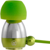 Gaiam Aluminum Ear Buds - Green