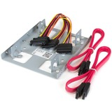 """StarTech.com Dual 2.5"""" to 3.5"""" HDD Bracket for SATA Hard Drives"""