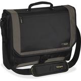 "Targus CityGear TCG200 Carrying Case (Messenger) for 17"" Notebook - Black, Yellow"