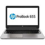 "HP ProBook 655 G1 15.6"" LED Notebook - AMD A-Series A6-5350M Dual-core (2 Core) 2.90 GHz - Silver"