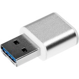 Verbatim 64GB Mini Metal USB 3.0 Flash Drive - Brushed Silver