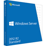 HP Microsoft Windows Server 2012 R2 Standard 64-bit - PC - 2 Processor License and Media - ROK
