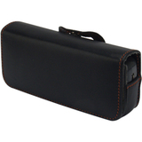 zCover Tech-Leather Carrying Case (Pouch) for IP Phone - Black