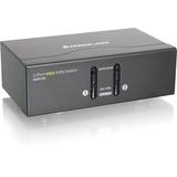IOGEAR 2 Port VGA KVM Switch, PS2 and USB