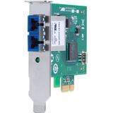 Allied Telesis AT-2911LX/2LC Gigabit Ethernet Card - PCI Express x1 - 2 Port(s) - 1 x Network (RJ-45) - Twisted Pair, Optical Fiber