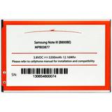 Arclyte Samsung Batt Galaxy Note 3 N900P; N900A