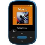 SanDisk Clip Sport SDMX24-008G 8 GB Flash MP3 Player - Blue