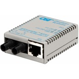 miConverter/S 10/100 Ethernet Fiber Media Converter RJ45 ST Single-Mode 30km